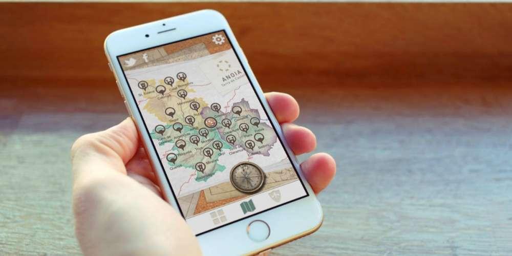 """El Consell Comarcal presenta l'App """"Anoia, Terra de Castells"""""""