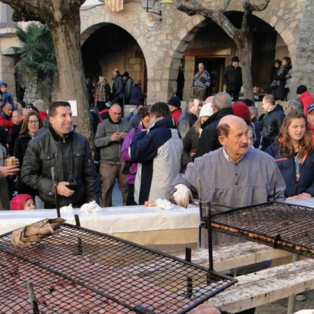 Fira de sant Andreu i matança del Porc a la Llacuna