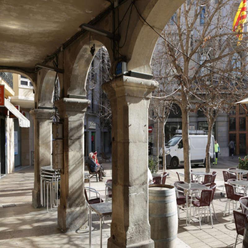 Plaça de l'Ajuntament d'Igualada