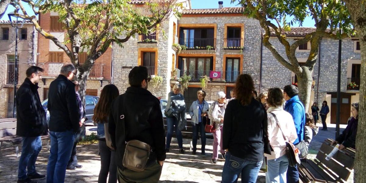 Els agents turístics de l'Anoia descobreixen la Llacuna
