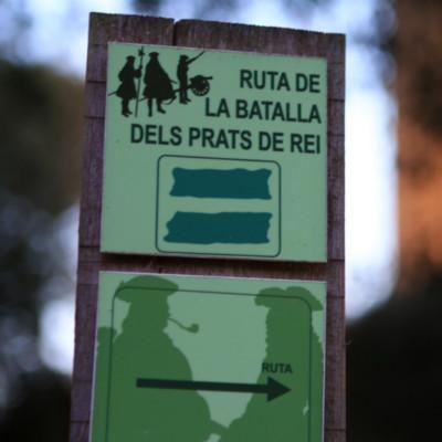 RUTA DE LA BATALLA DELS PRATS DE REI
