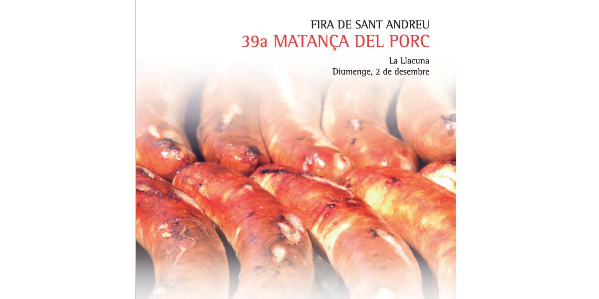 Fira de Sant Andreu i 39a Matança del Porc