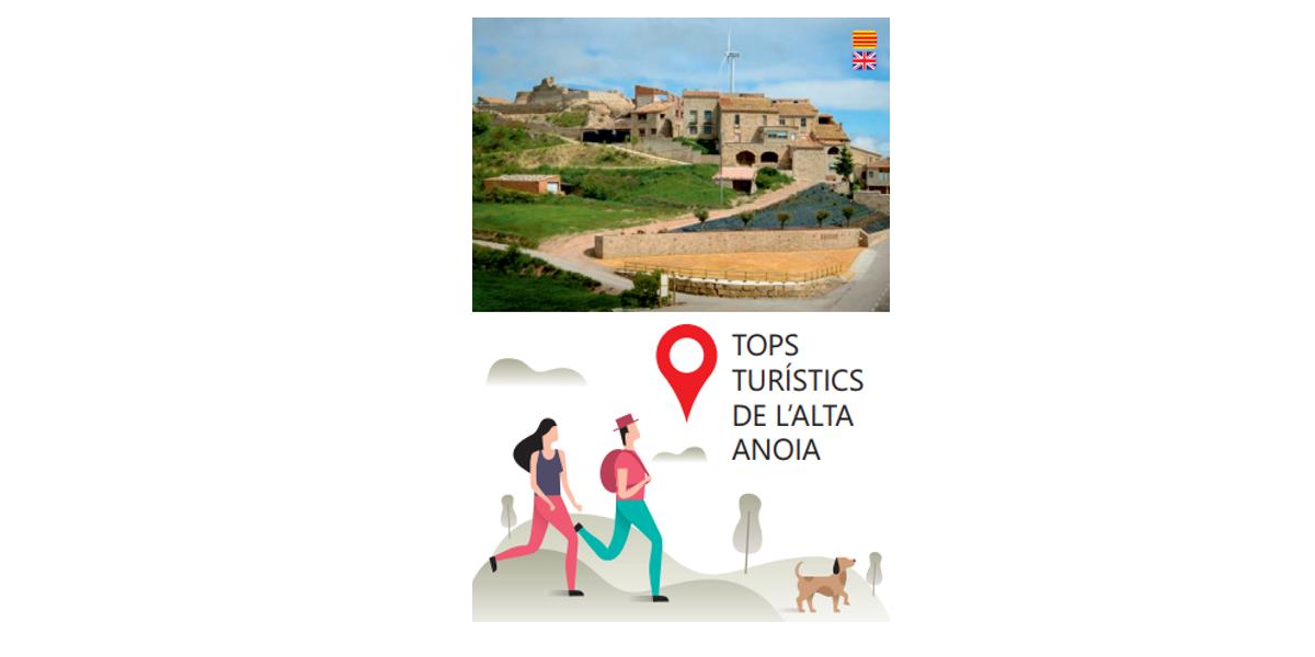 """S'edita una guia sobre els """"Top turístics de l'Alta Anoia"""""""