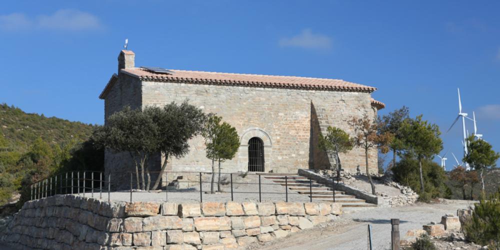Puig de Sant Miquel, el vèrtex de la Serra de Rubió