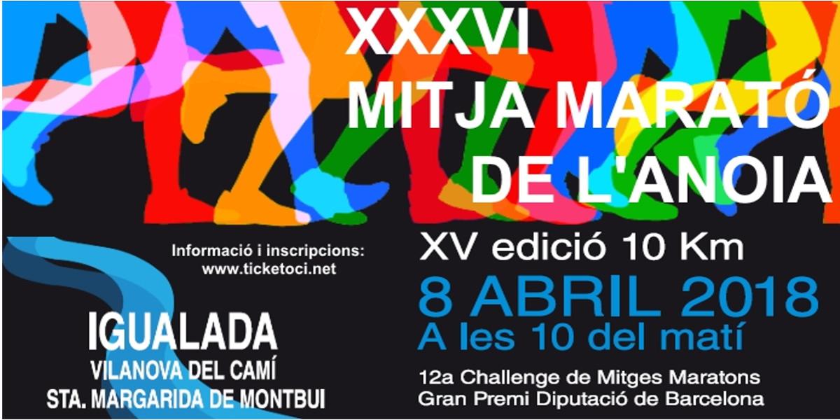 XXXVI Mitja Marató de l'Anoia