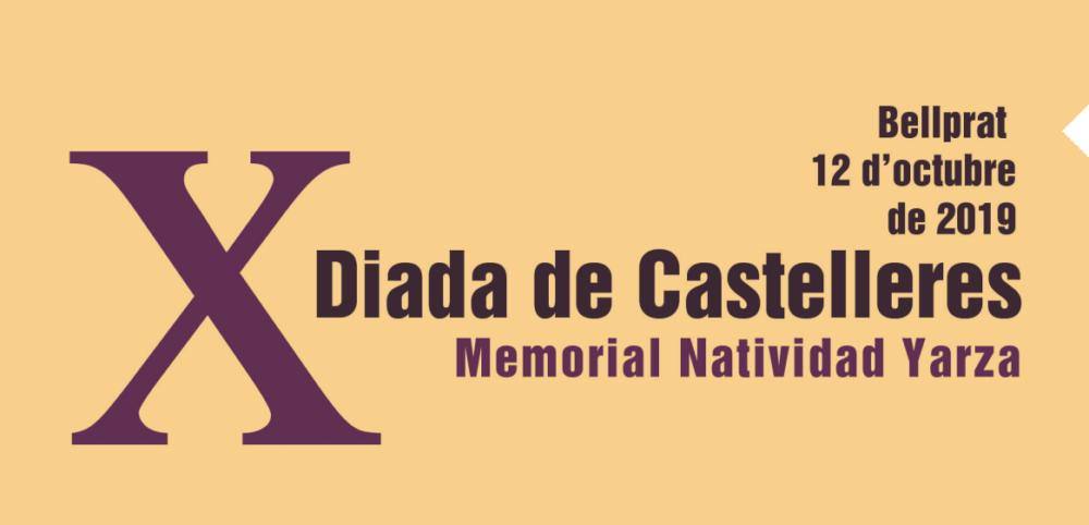 Diada castellera Natividad Yarza a Bellprat