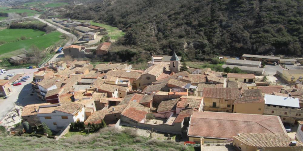 Visita didàctica dels punts PIT de l'Anoia a Castellfollit de Riubregós