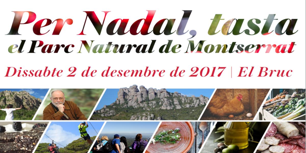 Fira de Nadal al Bruc, a l'entorn del Parc Natural de Montserrat