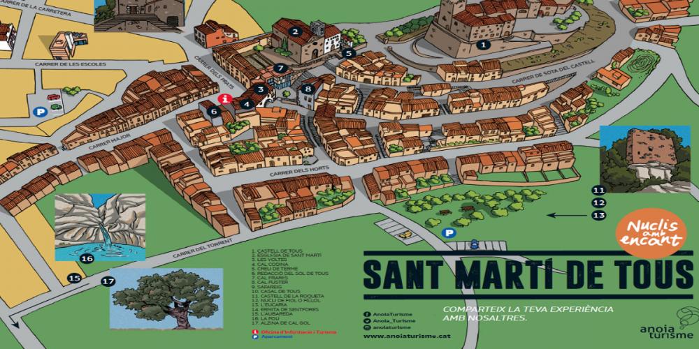 """Sant Martí de Tous, la nova entrega de """"Nuclis amb encant"""""""