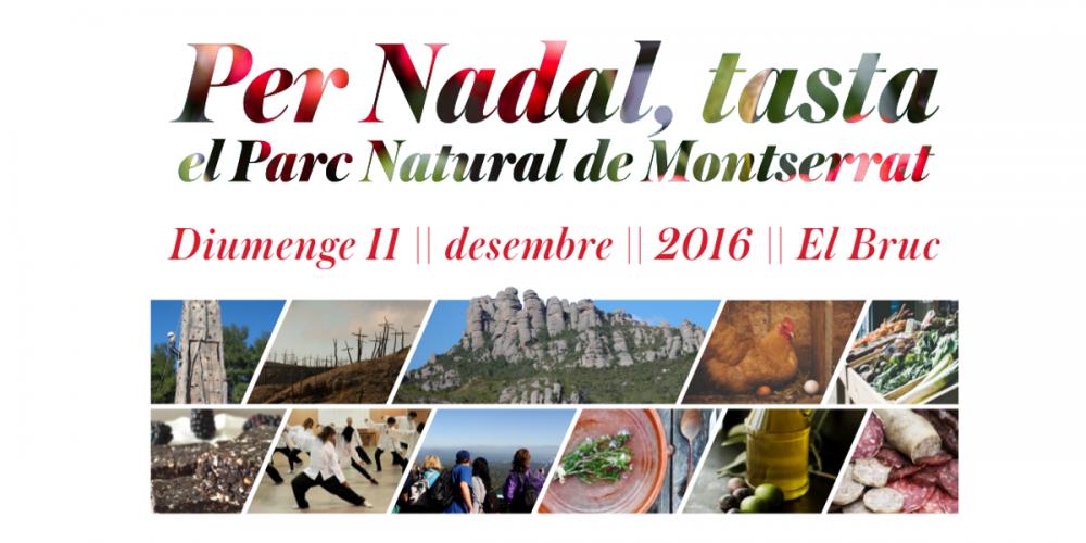Feria de Navidad de El Bruc, en el Parque Natural de Montserrat