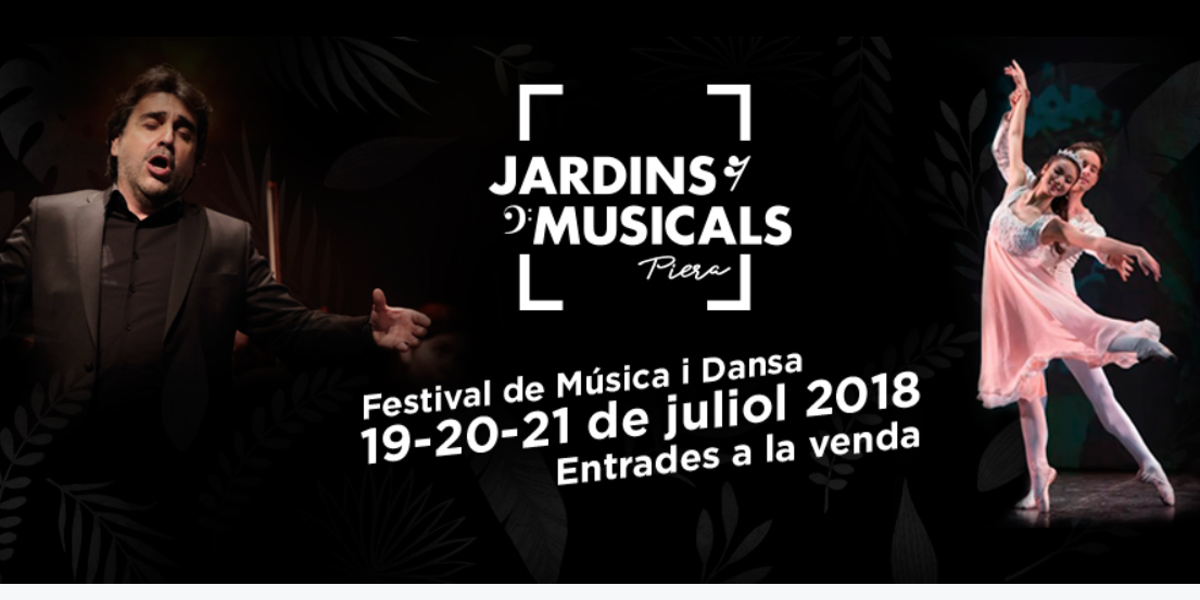 Festival Jardins musicals de Piera
