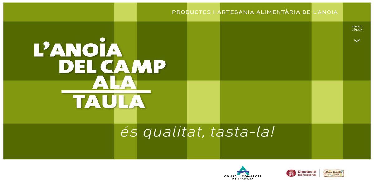 """El Consell Comarcal edita una nova guia digital """"Del camp a la Taula"""", actualitzada amb nous productors i seccions"""