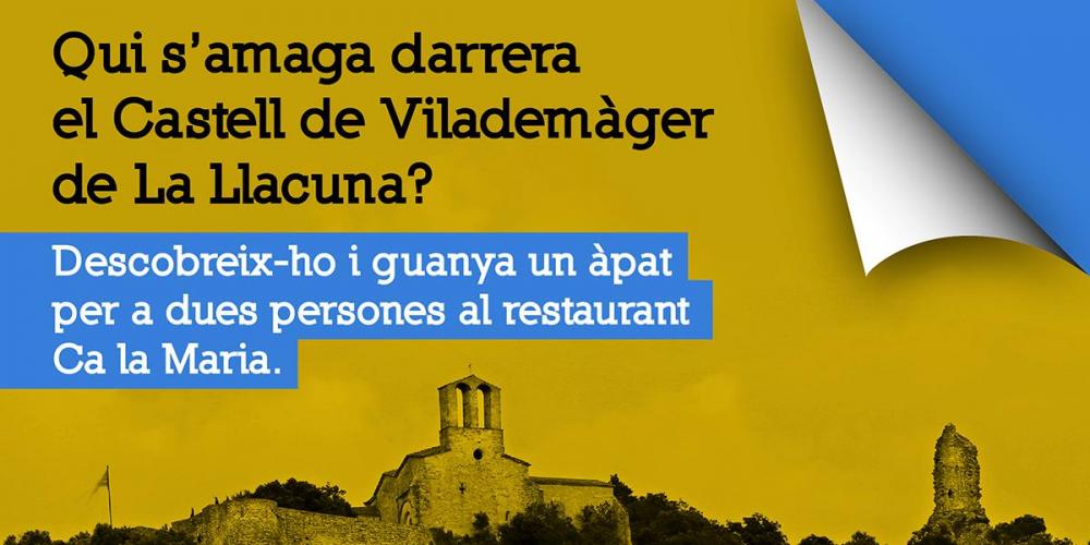 Guillem de Cervelló i el Castell de Vilademàger de La Llacuna